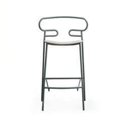 Genoa 0049 MET Stool | Bar stools | TrabÀ