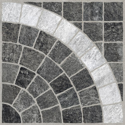 Valeria Grafite Arco Bianco | Ceramic tiles | Rondine