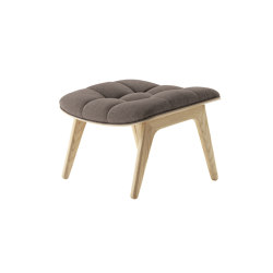 Mammoth Ottoman, Natural / Wool: Fawn | Poufs | NORR11