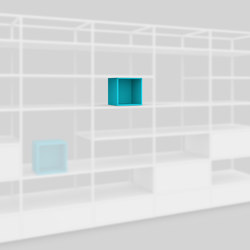 Colored cube   Shelving   Artis Space Systems GmbH