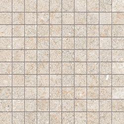 Brystone Ivory Mosaico | Mosaïques céramique | Keope