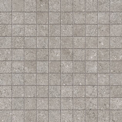 Brystone Grey Mosaico | Mosaïques céramique | Keope