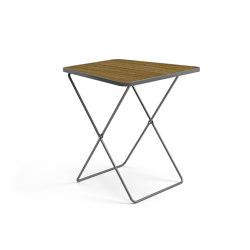 April Go folding table | Bistrotische | Vestre