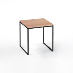 Less side table | H 23/2 schw-06 | Coffee tables | Hans Hansen & The Hansen Family