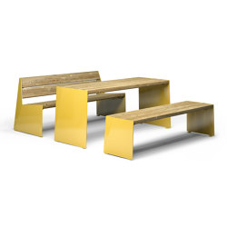 Bloc | Tables and benches | Vestre