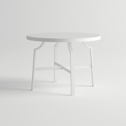 Agosto Dining Table Round | Dining tables | 10DEKA