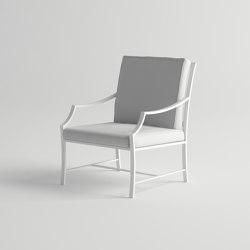 Agosto Lounge Armchair | Sillones | 10DEKA