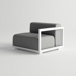 Victus  Modular Sofa Left Armrest | Poltrone | 10DEKA