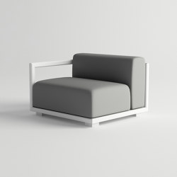 Victus  Modular Sofa Right Armrest | Poltrone | 10DEKA