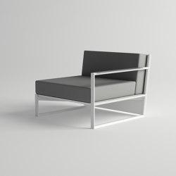 Ora Modular Sofa Left Armrests | Armchairs | 10DEKA