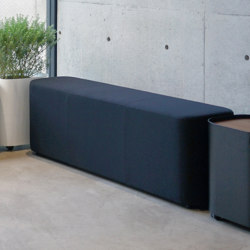 LOAF I 3P bench | Bancos | By interiors inc.