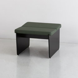 SLED I bench | Poufs | By interiors inc.