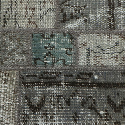 MeatPacking Patchwork Argento | Rugs | G.T.Design