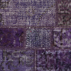 MeatPacking Patchwork Viola Chiaro | Rugs | G.T.Design