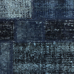 MeatPacking Patchwork Blu Scuro | Rugs | G.T.DESIGN