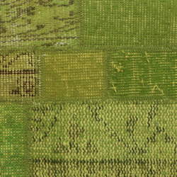 MeatPacking Patchwork Verde | Rugs | G.T.DESIGN