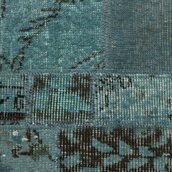 MeatPacking Patchwork Blu | Rugs | G.T.DESIGN