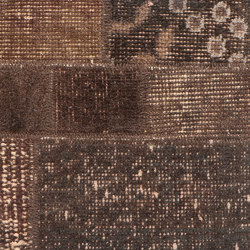 MeatPacking Patchwork Marrone Scuro | Rugs | G.T.Design