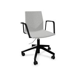 FourCast®2 Wheeler upholstery | Sillas de oficina | Four Design