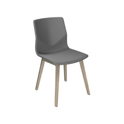 FourSure® 44 Wooden Legs upholstery | Stühle | Four Design