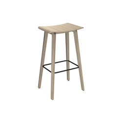 Four Stools Wooden Legs | Bar stools | Four Design