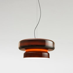 Bohemia Amber | Suspended lights | Marset