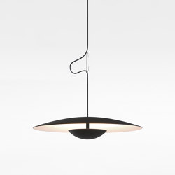 Ginger 42 C Black-White | Suspended lights | Marset