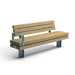 Kong bench | Benches | Vestre