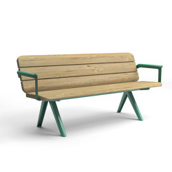 Nunu bench | Benches | Vestre