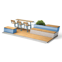 Parklet 2.0 | Tables and benches | Vestre