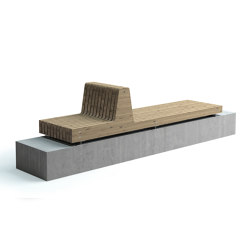 Porto bench | Bancos | Vestre