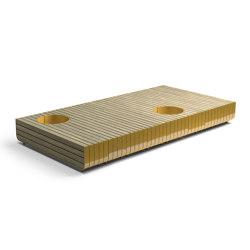 Stripes bench | Benches | Vestre