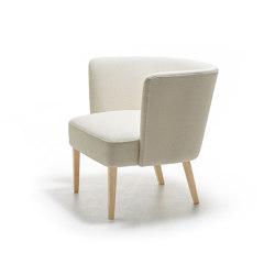 Velour lounge armchair | Chairs | La Cividina