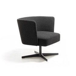 Velour lounge armchair | Sillones | La Cividina