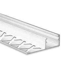FP2 Serie | FP1 LED Fliesenprofil Mitte 250cm | Profile | Galaxy Profiles