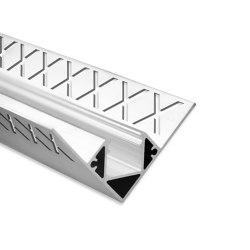 FP8 Serie | FP8 LED Fliesenprofil Inneneck 250cm | Profile | Galaxy Profiles