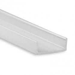 PL12 Serie | PL10.1 LED AUFBAU/MONTAGE-Profil 200 cm, flach | Profile | Galaxy Profiles
