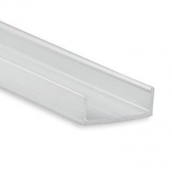 PL13 Serie | PL10.1 LED AUFBAU/MONTAGE-Profil 200 cm, flach | Profile | Galaxy Profiles