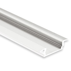 PL8 series | PL8 LED INSTALLATION profile 200 cm, flat / wing | Profiles | Galaxy Profiles
