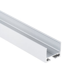 PN10 series | PL10.1 LED CONSTRUCTION / ASSEMBLY profile 200 cm, flat | Profiles | Galaxy Profiles