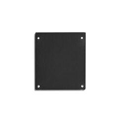 PN17 series | End cap E69 Alu black RAL9005 |  | Galaxy Profiles