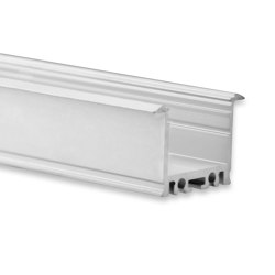 PN21 series | PN21 LED INSTALLATION profile 200 cm, high/wings | Profiles | Galaxy Profiles