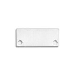 PN4 series | End cap E43 Alu white RAL9010 |  | Galaxy Profiles