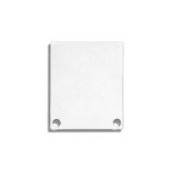 PN4 series | End cap E44 Alu white RAL9010 |  | Galaxy Profiles