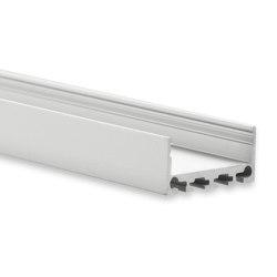 PN4 series | PN4 LED CONSTRUCTION profile 200 cm, flat | Profiles | Galaxy Profiles