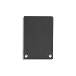 PN6 series | End cap E48 Alu black RAL9005 |  | Galaxy Profiles