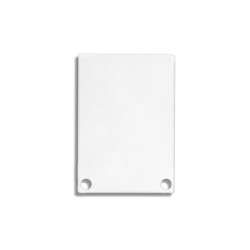 PN6 series | End cap E48 Alu white RAL9010 |  | Galaxy Profiles