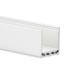PN6 Serie | PN6 LED AUFBAU-Profil 200 cm, hoch | Profile | Galaxy Profiles