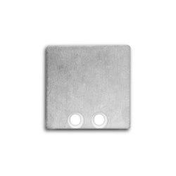 PN8 series   End cap E58 aluminium      Galaxy Profiles
