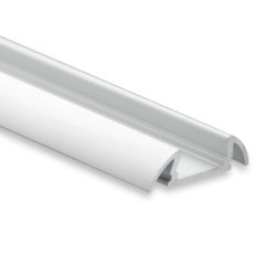 PO17 series | PO17 LED CONSTRUCTION profile 200 cm, ultra-flat/wing | Profiles | Galaxy Profiles